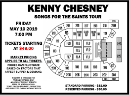 Mohegan Sun Pocono Seating Chart Kenny Chesney Mohegan Sun Arena