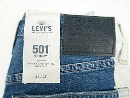 <b>LEVIS</b> MADE & Crafted <b>LMC</b> 501 Chaps Stretch Skinny High Rise ...