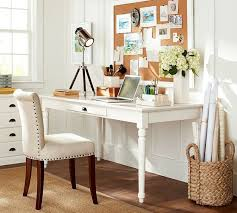 office furniture pottery barn. home office desks writing u0026 craft tables furniture pottery barn
