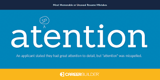 Resume The Most Outrageous Resume Mistakes Employers Have Found