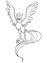 Black And White Pokemon Coloring Page Free Download