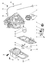 2007 jeep grand cherokee engine oiling diagram i2161402
