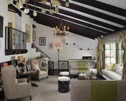 Mediterranean living room idea in Los Angeles with no tv