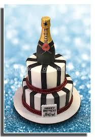 Champagne Bottle Cake 1