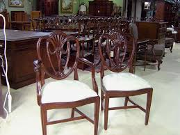 swag sweetheart shield back dining room chairs solid gany s k