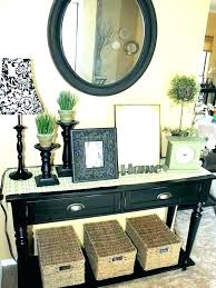 Entrance Mirror Ror Table With Entryway Rors Photo 1 Set Hall And Console
