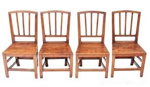 dining chairs set of 4. 4 Dining Chairs Set Of Elm Oak Kitchen Chair Table Dimensions L