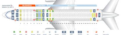 Seat Map Boeing 767 300 American Airlines Best Seats In The