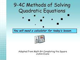 quadratic equation calculator math is fun formula purplemath mathway how to use your plus find the