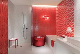 Modern Red Bathroom Color Ideas Top 5 That Makes Intended Decorating
