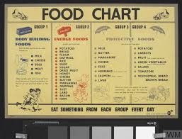 Bodybuilding Food Chart Food Chart Body Building Foods Energy Foods Protective