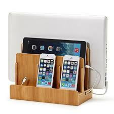 Amazon.com: G.U.S. Multi-Device Charging Station Dock & Organizer -  Multiple Finishes Available. For Laptops, Tablets, and Phones - Strong  Build, ...