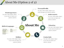 Introduce Yourself Cover Letter Powerpoint Presentation