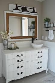 Kids Bathroom Vanities Farmhouse Master Bathroom Reveal Little Vintage Nest