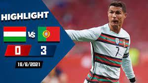 ไฮไลท์บอลยูโร โปรตุเกส vs ฮังการี่ 3-0 ล่าสุด 16/06/2021 HD - ASEAN24