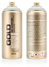 Montana Gold Spray Paint 400ml Montana Cans Highest