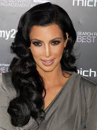 Long Hairstyle 47 Inspiration Kim Kardashian Long Hairstyles Big Curls PoPular Haircuts