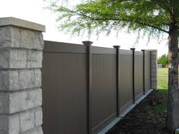 black vinyl privacy fence. Black Vinyl Fence In Dallas Texas. Privacy With Details T
