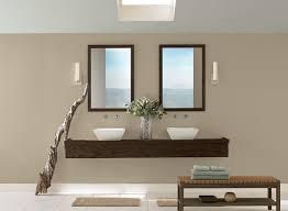 Neutral Bathroom Ideas - All-Natural Bathroom Retreat - Paint Color Schemes