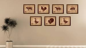 pig meat cuts butchers chart home decor wall art decoration frames
