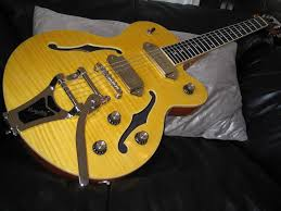 ngd epiphone wildkat and mods my first craigslist and first bigsby great gutiar fot the in need of a few critical mods first off remove the poker chip