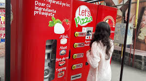 Vending Machine Pizza New Pizza Vending Machine Installed In Western Romania City Romania