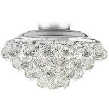 Clear Crystal Ball Chrome Universal Ceiling Fan Light Kit Kits - Lamps Plus Open Box Outlet Site