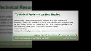 Resume Writing By Verse Finance Youtube