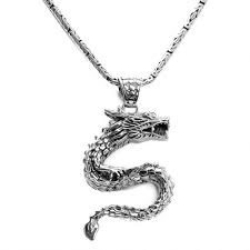 our signature dragon sterling silver pendant zoom