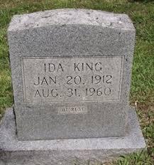 Ida Barrett King (1912-1960) - Find A Grave Memorial