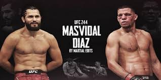 Ufc 244 Jorge Masvidal Vs Nate Diaz Die Hard Tickets
