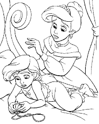 Small Picture Baby Mermaid Coloring Pages Coloring Pages