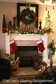 Kitchens Decorated For Christmas Breathtaking Fireplace Christmas Decorating Ideas Pictures