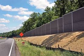 sound barrier walls. Dulles Toll Road Sound Barrier Walls