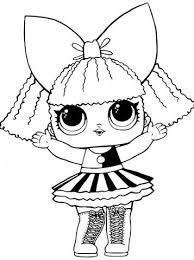 Each doll is a great example of fashion and style. Kids N Fun Com 30 Coloring Pages Of L O L Surprise Dolls