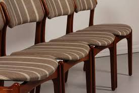 clic mid century dining chairs vine with mid century od 49 teak dining chairs by erik buch for oddense scheme