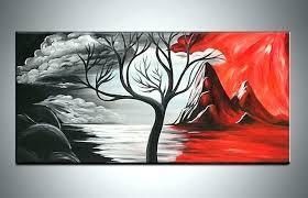 black white red wall art h black white red tree wall art  on canvas wall art black white with red umbrella 215 x 325 with black white red wall art canvas wall art black white with red