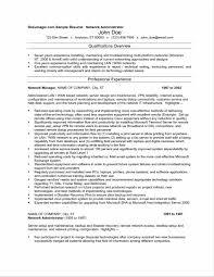 Network Administrator Resume Sample Pdf Best Of Doc Fo Sevte