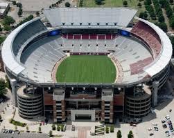 Alabama Football Fields Alabama Stadiums Maps Crimson