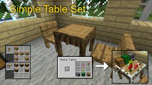 How to make a table in minecraft Coffee Table Table Set Mod 9minecraft Minecraft Tables And Chairs Sefuresite Table Set Mod 9minecraft Minecraft Tables And Chairs Sefuresite