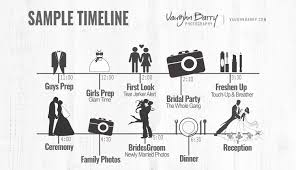 Wedding Timeline Day Schedule Timeline Planning 22