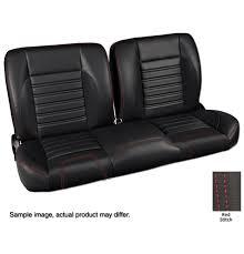 1947 59 pro split back bench seat sport black