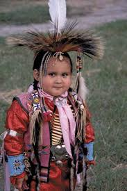 Oklahoma  Comanche    Kids Encyclopedia   Children     s Homework Help     Kids Britannica Photograph A young Comanche boy is pictured wearing traditional clothing at a Native American celebration