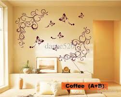 erfly vine flower wall art stickers decals wall paster house decorative stic nursery wall decals nursery wall sticker from danae520 22 61 dhgate com