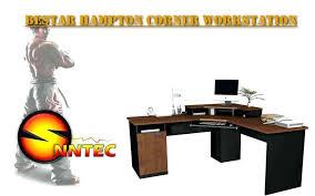bestar hampton corner workstation granite computer desk fresh