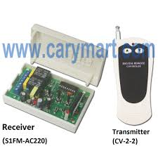 AC 220V motor wireless controller with transmitter & receiver