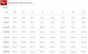 Puma Junior Size Chart Golf Glove Sizes Guide Men Size Chart Nike Zaferkaraman
