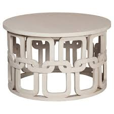 white cottage chic coffee table belle
