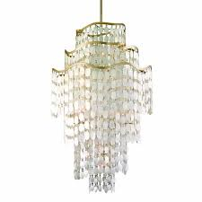 a large image of the corbett lighting 109 719 champagne leaf