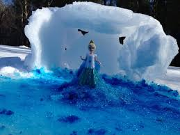 Small Picture FROZEN SNOW Tutorial Queen Elsa How to Make the Movie Ice Palace